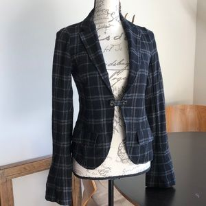 Fitted Light Wool Blazer